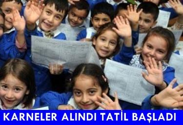 BİR EĞİTİM DÖNEMİ DAHA SONLANDI !