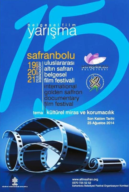festival yarışma afişi