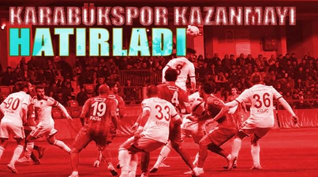 KARABÜKSPOR 1-0 GAZİANTEP BŞB