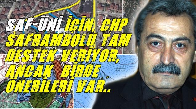 SAF-ÜNİ PROJESİ GÜNDEMDE..