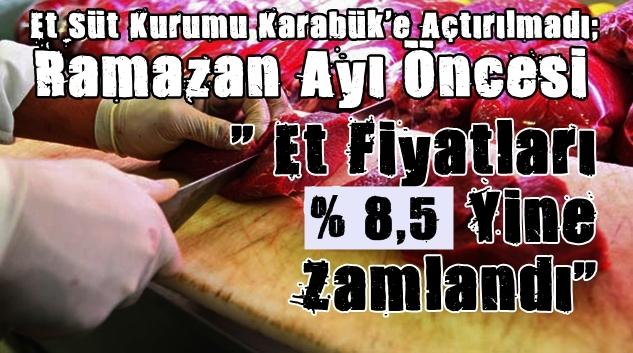 RAMAZAN GELDİ, ZAMLAR GELDİ !!