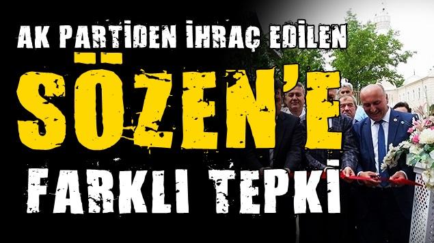SÖZEN'E FARKLI TEPKİ…!!