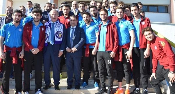 Şahin, Safranbolu Belediye Sporu Ziyaret Etti