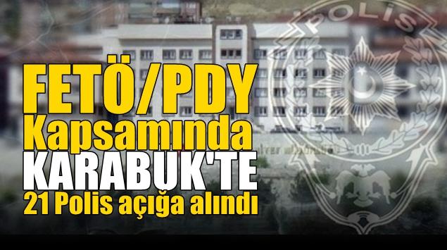 FETÖ/PDY kapsamında 9103 Polis açığa alındı