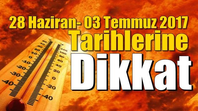 Dikkat..!! Meteorolojik uyarı