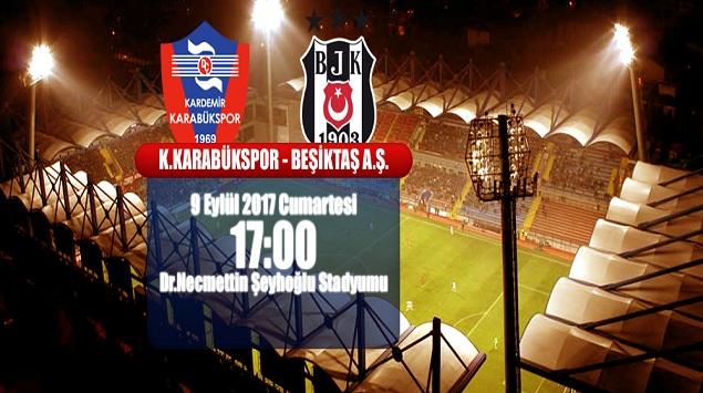 Karabükspor, Beşiktaş'ı Ağırlıyor