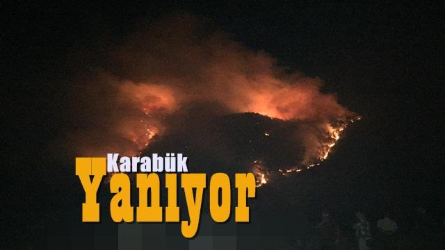 Karabük'te Yangın