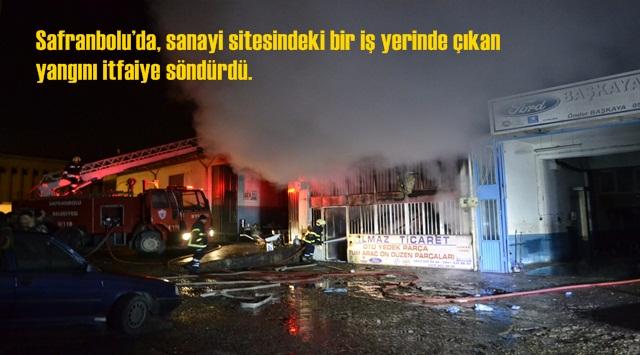 Yangın Korkuttu