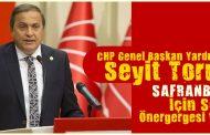 """CHP'den """"SAFRANBOLU"""" için Soru Önergesi"""