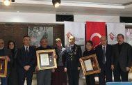 Karabük'teki Şehit Ailelerine Övünç Madalyası Verildi