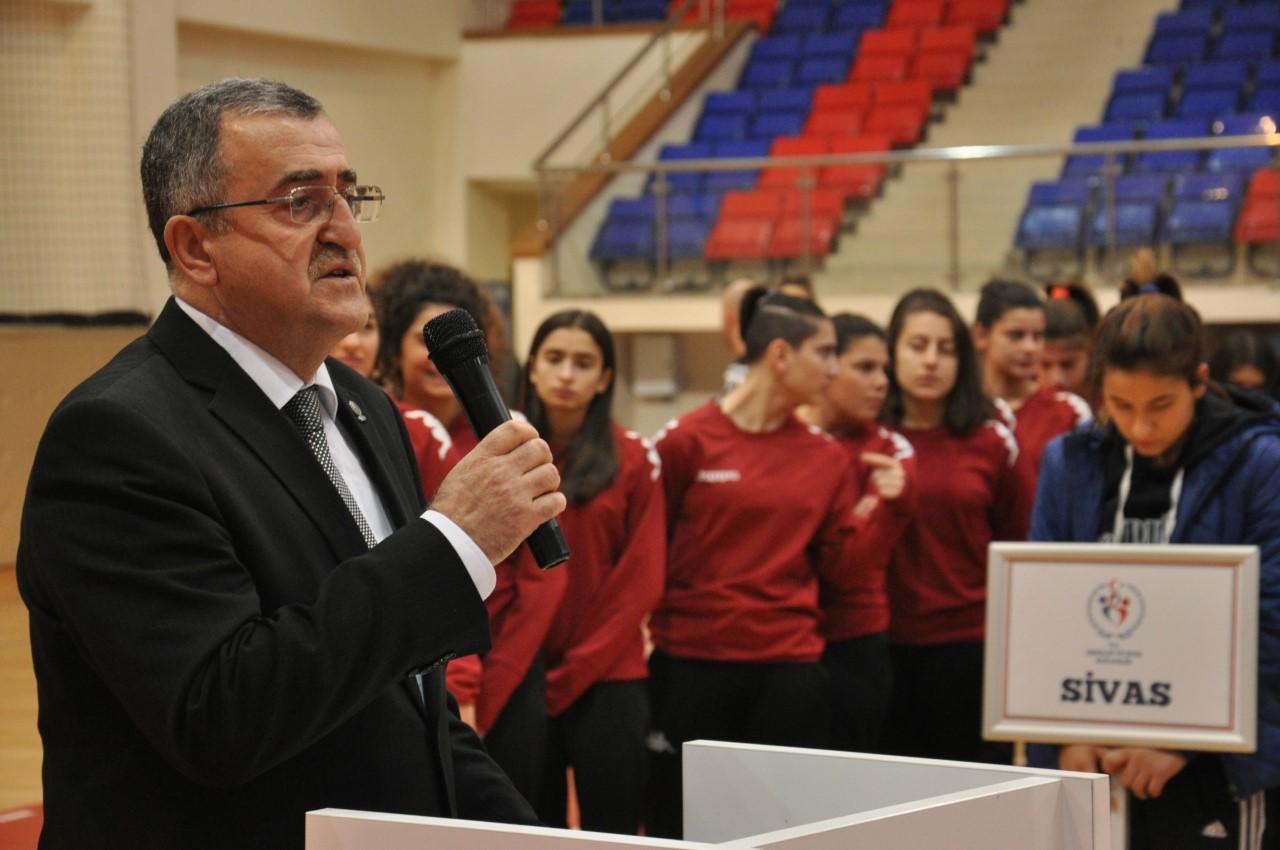 Liseler arası Türkiye Hentbol Şampiyonası Başladı