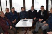 Ürkmezer, Otogarda Taksici Esnafını Ziyaret Etti