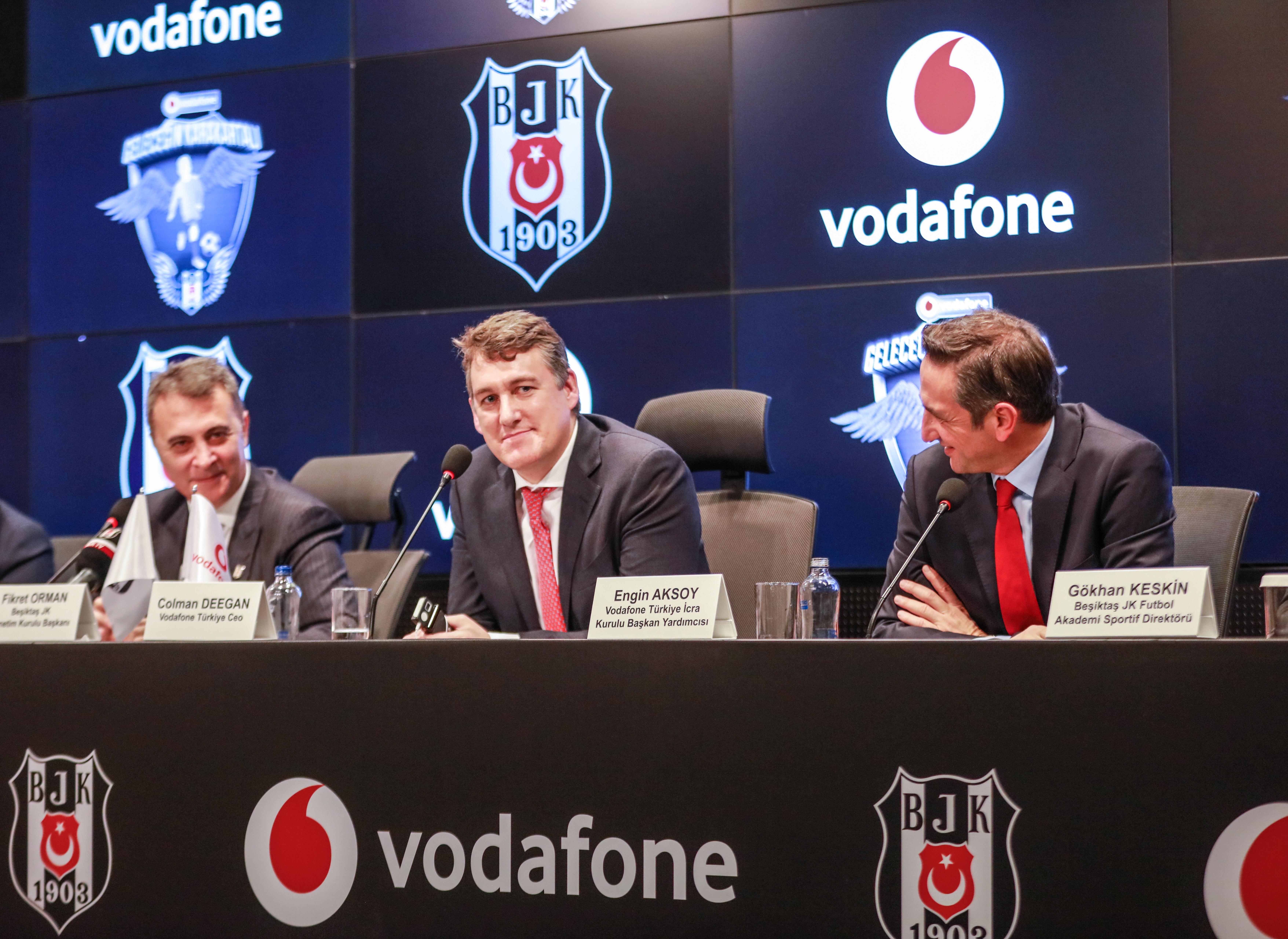 Vodafone Ve Beşiktaş, Türk Futboluna Genç Yetenekler Kazandıracak