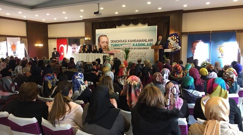 Safranbolu Ak Parti Kadın kolları başkanı Hülya Uluçay oldu