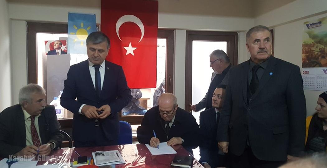 İyi Parti Safranbolu,Eflani ve Ovacık'ta Kongrelerini yaptı