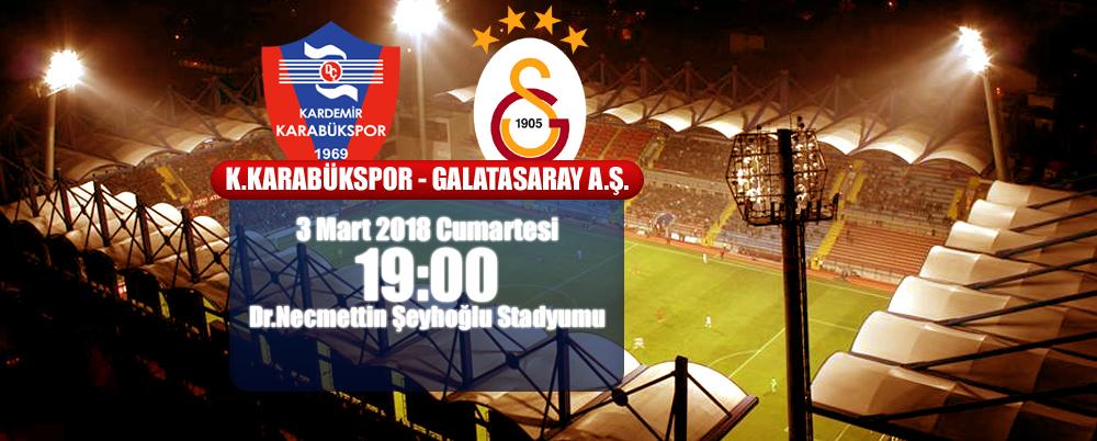 Karabükspor, Galatasaray'ı Bekliyor