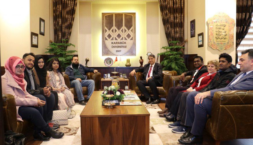 Daffodil Uluslararası Üniversitesinden Rektör Polat'a ziyaret