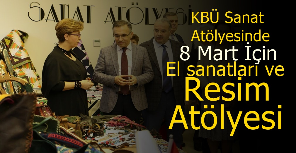Karabük'ün kadınlarından 8 Mart'a özel sergi