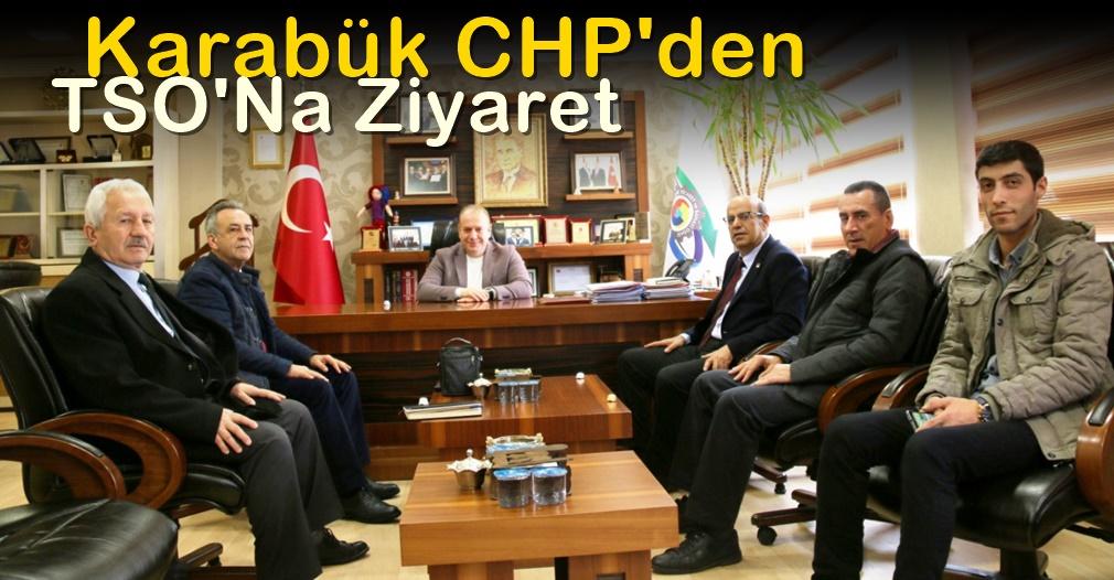 CHP den TSO'Ya Ziyaret