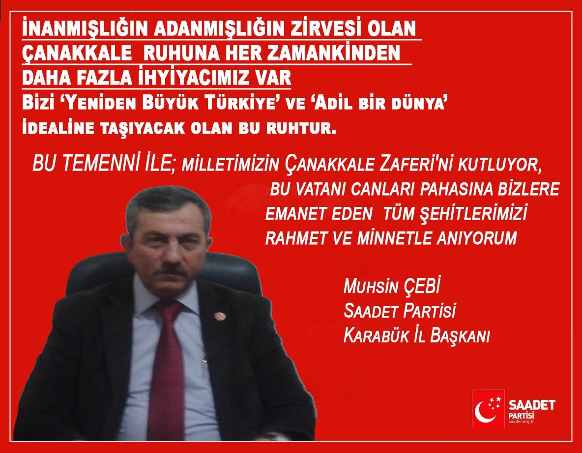 SP, Çanakkale Zaferi ile Basın açıklaması