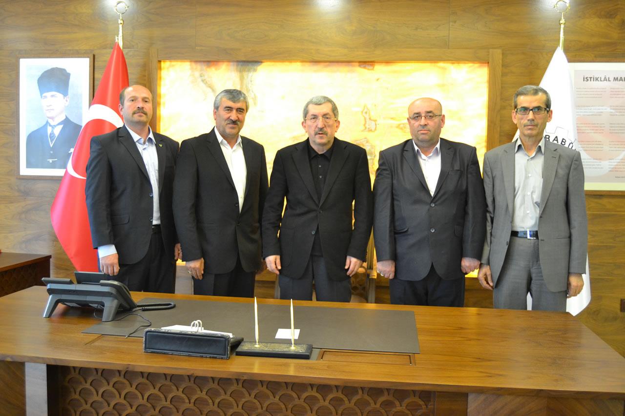 Eskipazar MHP İlçe Teşkilatından Başkan Vergili'ye Ziyaret