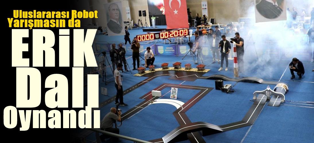 Uluslararası Robot Yarışmasında