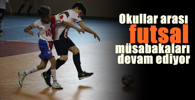 Futsal Müsabakaları Devam Ediyor