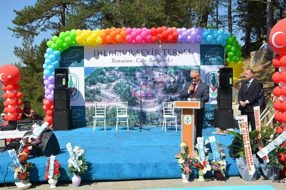 Yenice Seyir Terası Törenle Hizmete Alındı