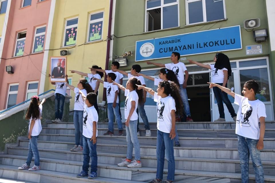 Cumayanı İlkokulu Ayhan Güzel Kütüphanesi açıldı.