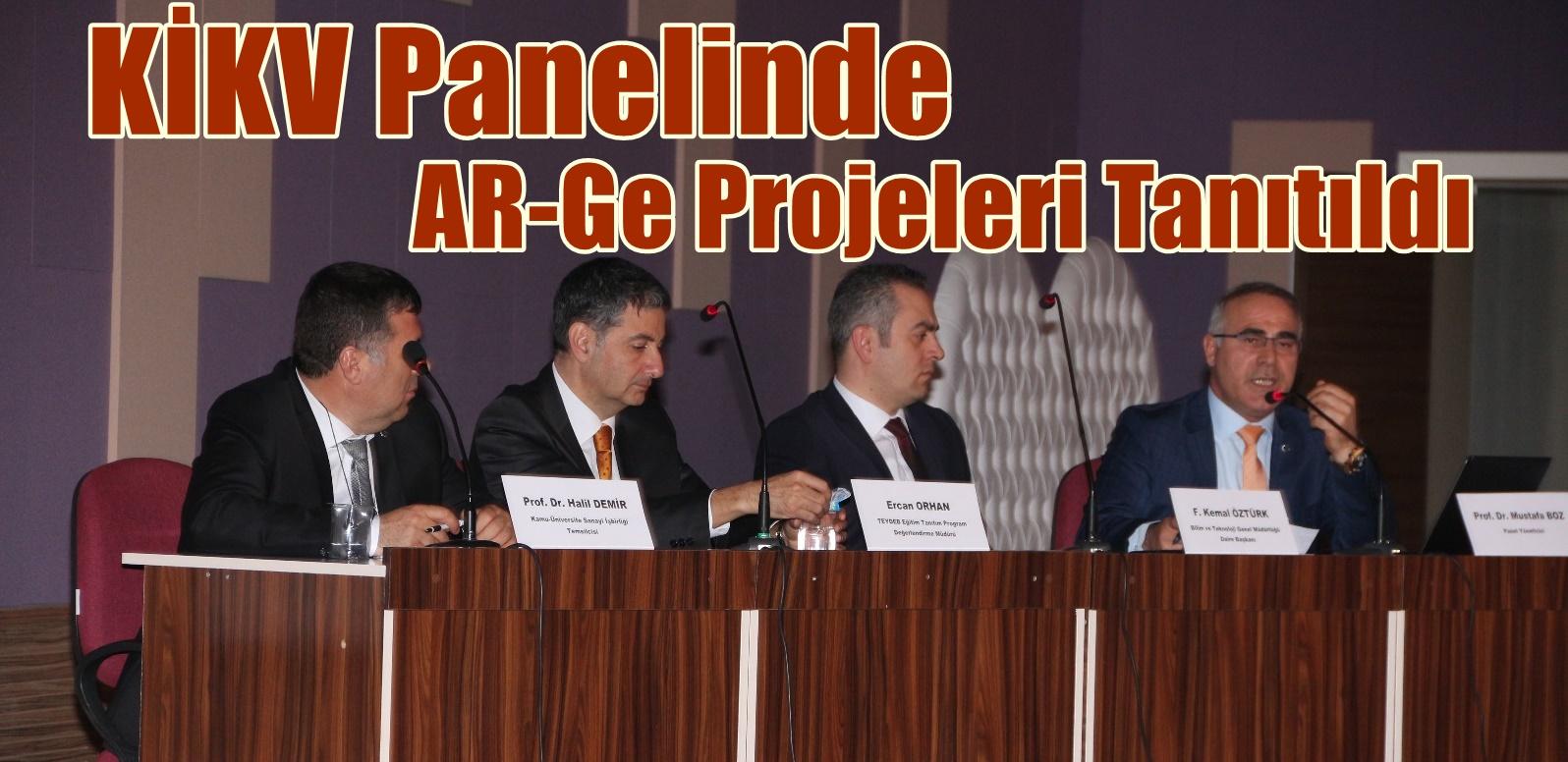 KİKV; TEYDEB Destekli, AR-GE Projelerini tanıttı.