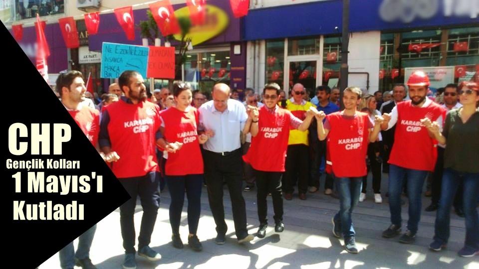 CHP Gençlik kolları 1 Mayısı Kutladı