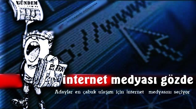 Sosyal Medya ve İnternet Seçimlere Damga Vuruyor