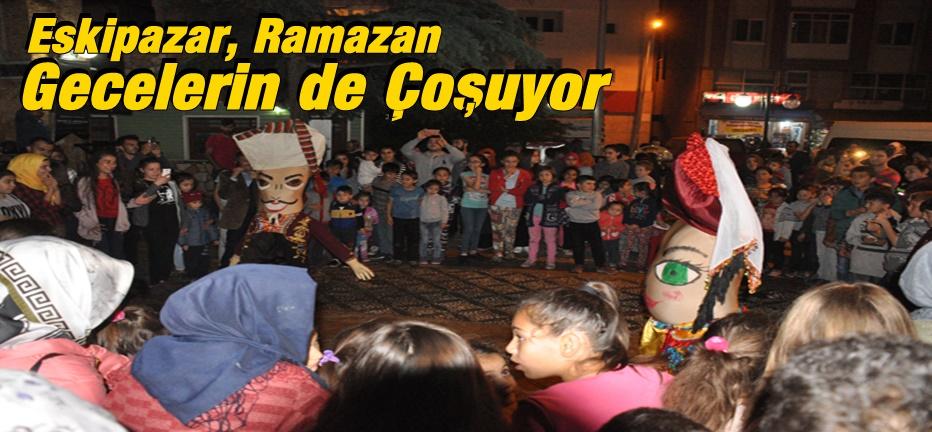 Eskipazar'da Ramazan Eğlenceleri Beğenildi