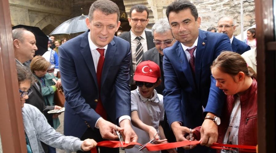 Safranbolu'da Özel Çocuklardan Özel Sergi