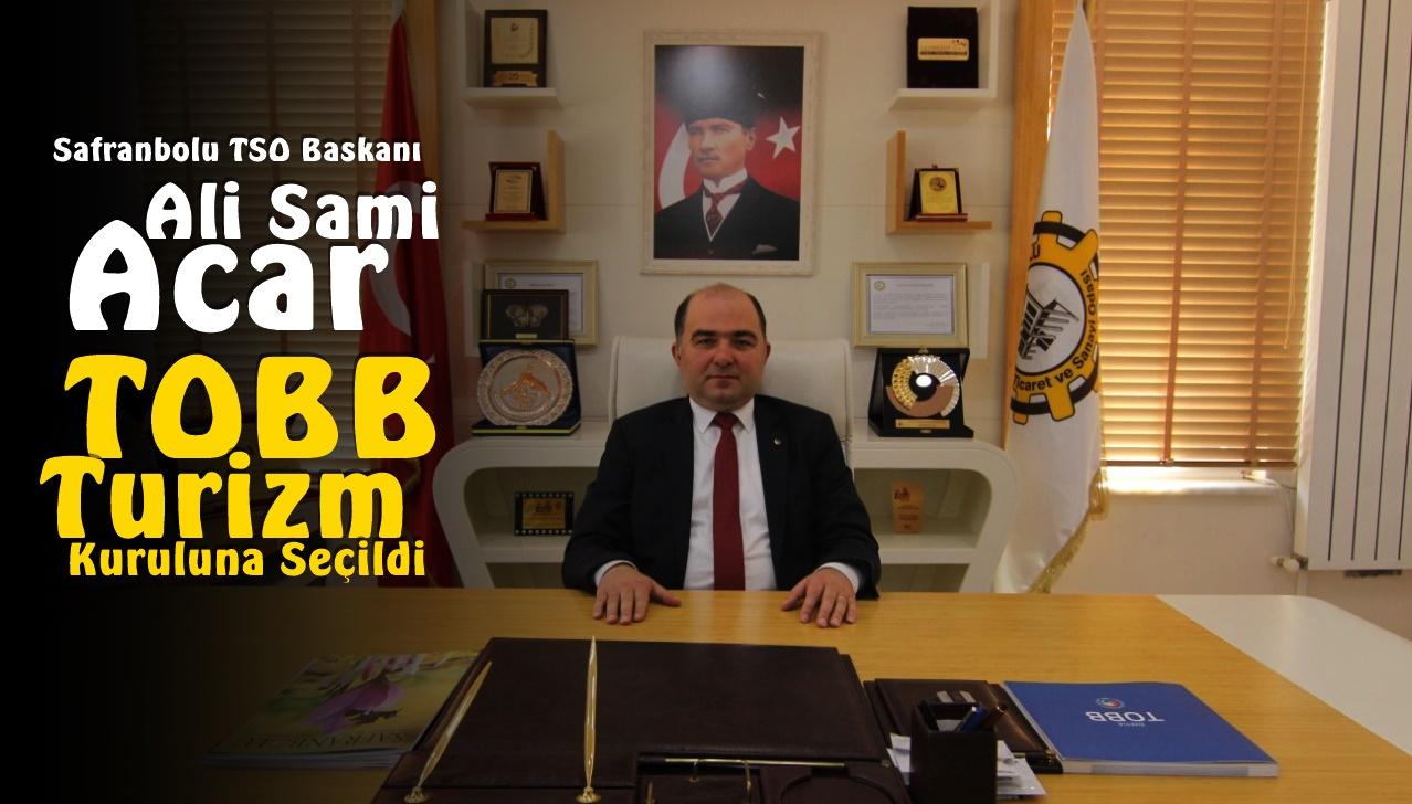 Ali Sami Acar, TOBB Turizm Kuruluna Seçildi