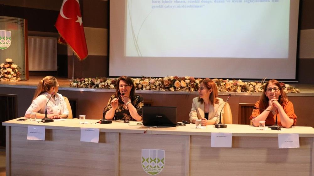 KBÜ'de 'Hemşirelik Haftası' kutlandı