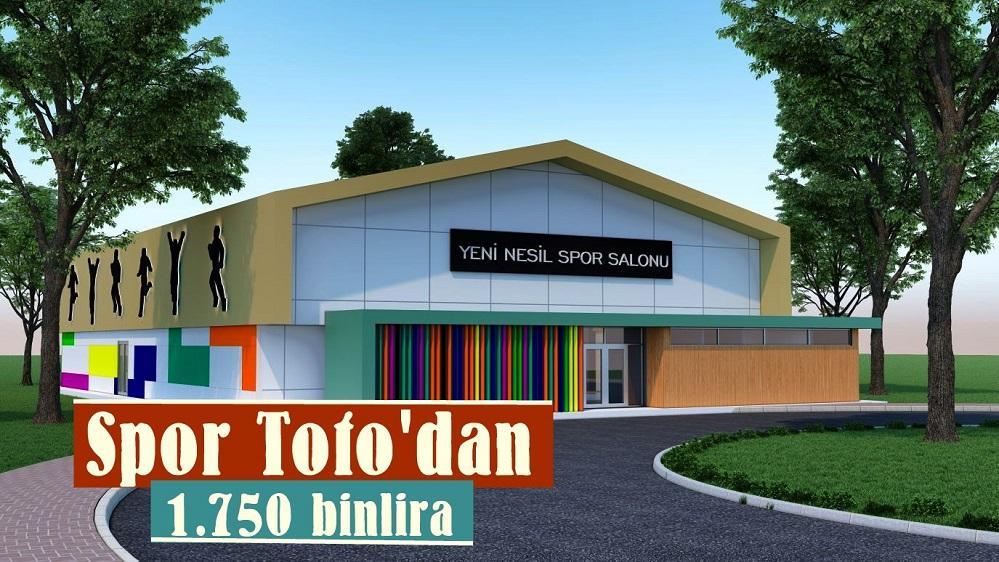 Spor Toto'dan Safranbolu'ya 1 Milyon 750 Bin lira tahsis edildi