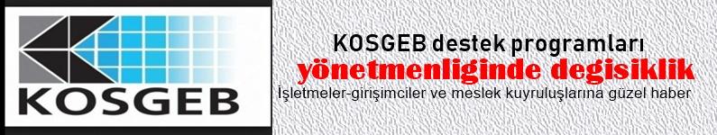 KOSGEB Destek Programları Yönetmenliğinde Değişiklik...