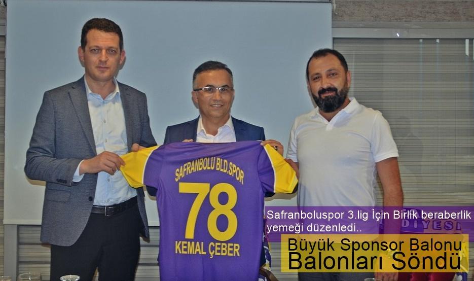 Safranboluspor'da Birlik-beraberlik yemeği..!!
