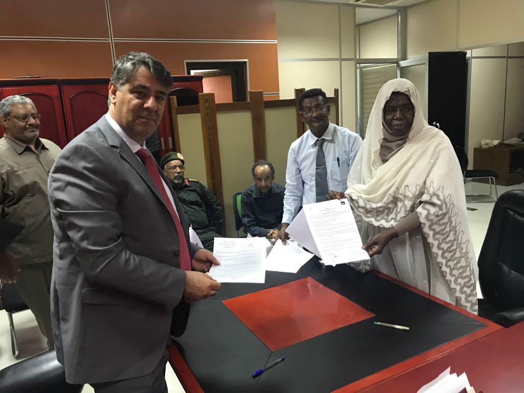 Rektör Polat Sudan'da
