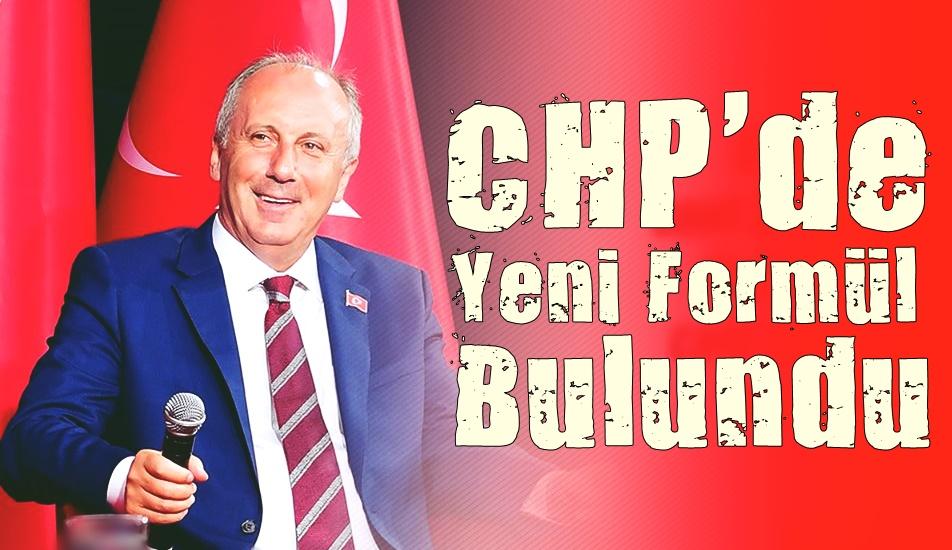 CHP de Yeni Formül Bulundu