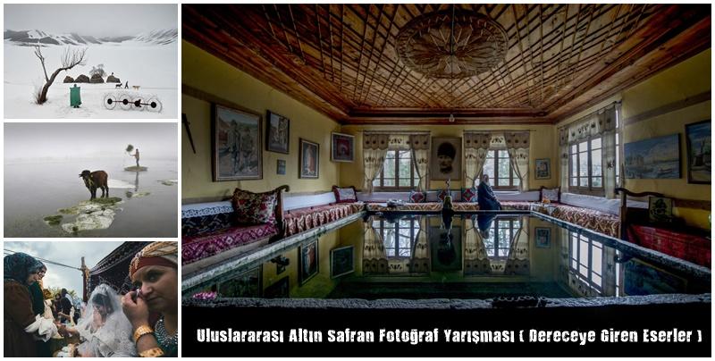 Altın Safran Fotoğraf Yarışmasında Dereceye Giren Eserler Açıklandı