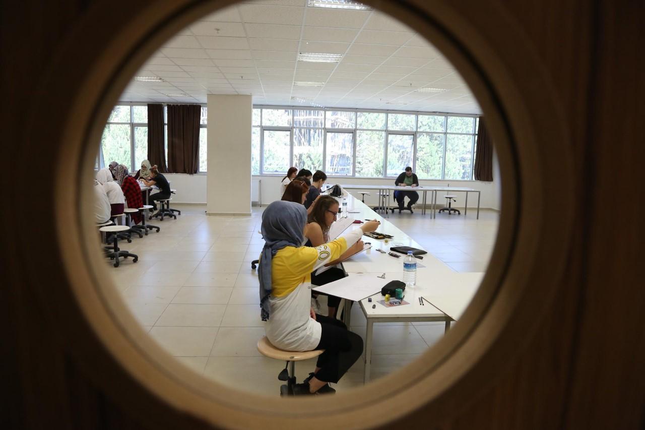 KBÜ'de özel yetenek sınavları devam ediyor