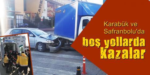 Boş Yollarda, Kazalar !!