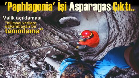 'Paphlagonia' İşi Asparagas Çıktı..