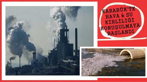 Karabük'ün Hava Kirliliği Tartışılıyor