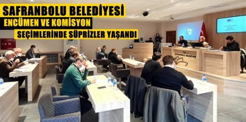 Safranbolu Belediyesinde Encümen ve Komisyonlarda Değişim..!