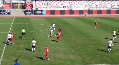 Vanspor FK: 1 – K. Karabük Spor: 0