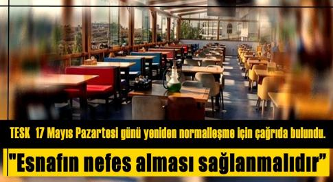 TESK NORMALLEŞME İSTİYOR