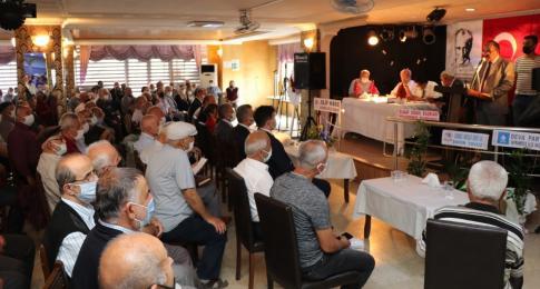 Başkan Köse Emekliler Derneği Başkan Adaylarına Başarılar Diledi